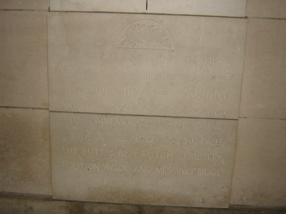 The Menin Gate Memorial (4/6)