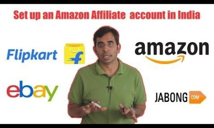 How to Define Up An Amazon Affiliate Account In India?