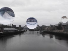 Distorting moments along the Tyne