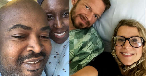 Co-Workers Become Family After Giving A Kidney To Another's Husband