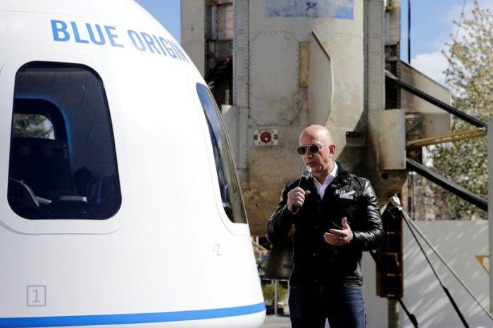 Jeff Bezo's To Take Inaugural Trip To Space July 20th