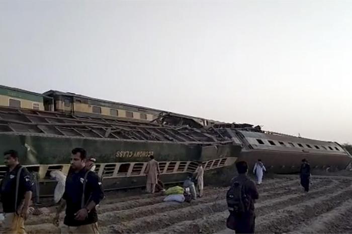 Dozens Killed In Pakistan Train Wreck