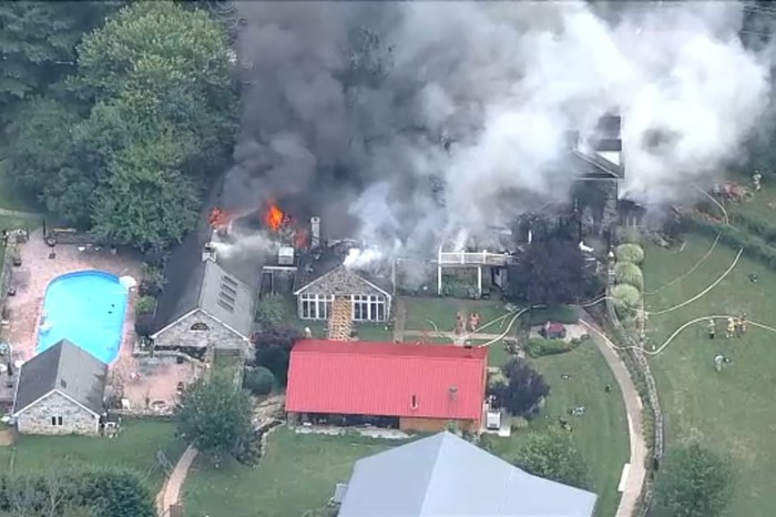 A House Explosion In Philly Sends 5 To Hospital