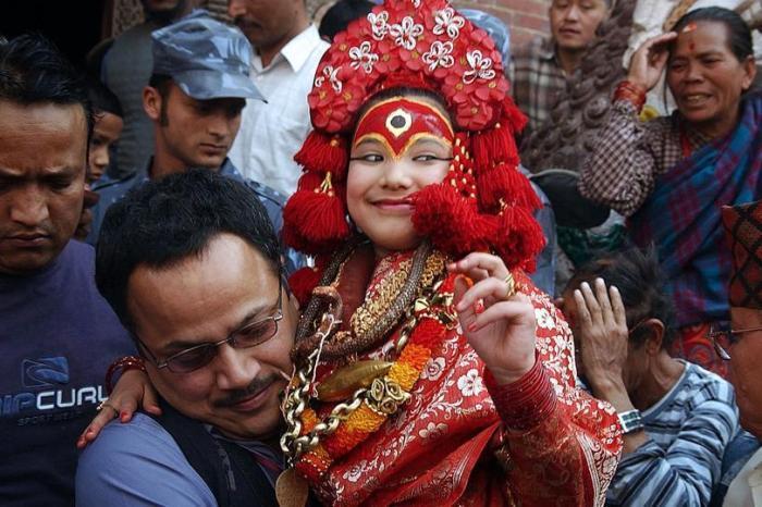 Nepal's Good Luck Tradition Of Kumari Puja Is Underway