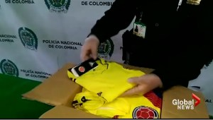 Drug traffickers are using World Cup jerseys to smuggle cocaine