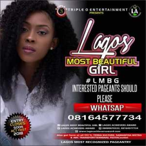 Register For Lagos Most Beautiful Girl 2018