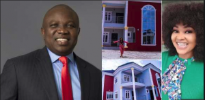 Ambode allegedly bought Mercy Aigbe's mansion for her