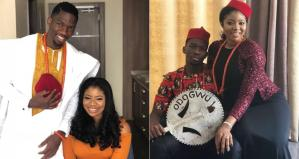 Footballer, Kenneth Omeruo welcome first child with wife Chioma