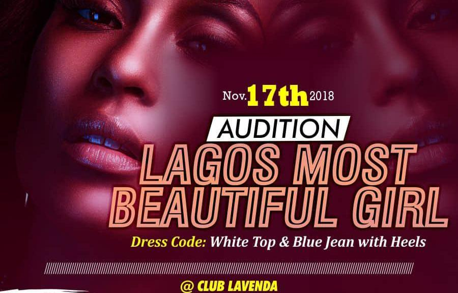 Lagos Most beautiful Girl set to hold its audition
