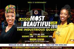 Lagos most beautiful girl begins online voting
