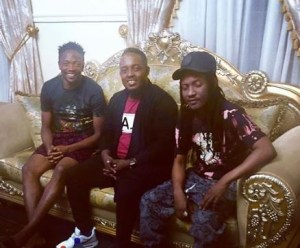 MI Abaga and Jesse Jagz pay condolence visit to Ahmed Musa after loosing his mum (Photo)