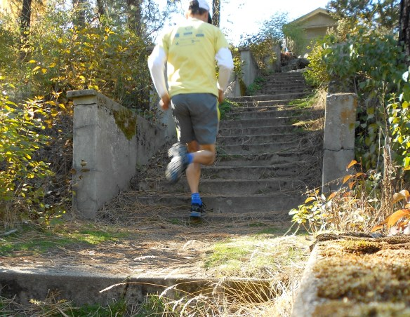 stair jim running