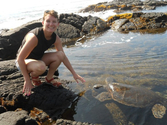 sea turtle comes to Ruby