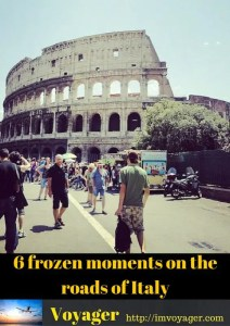 6 frozen moments on the roads of Italy