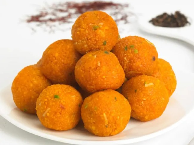 Laddus (sweet) - How I got high on Holi-the festival of vibrant colors - By Voyager