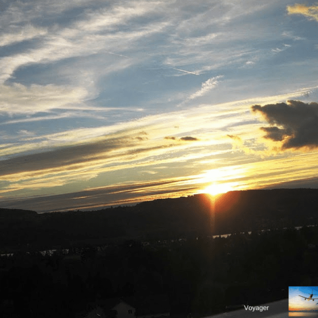 Sunset in Uster