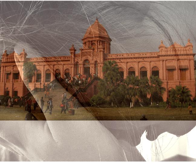 Monuments - Ahsan Manzil, Dhaka