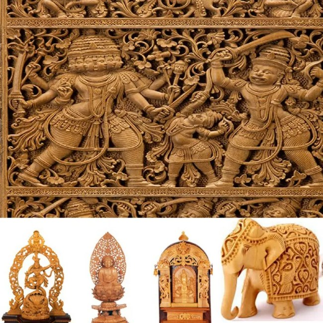 Mysore Sandalwood items