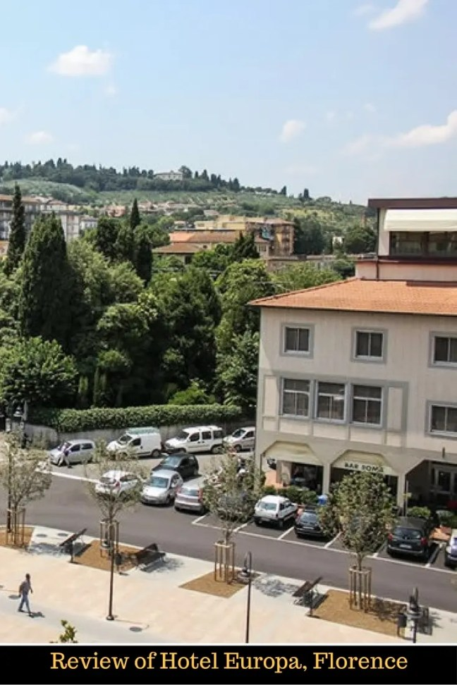 Review of Hotel Europa, Florence