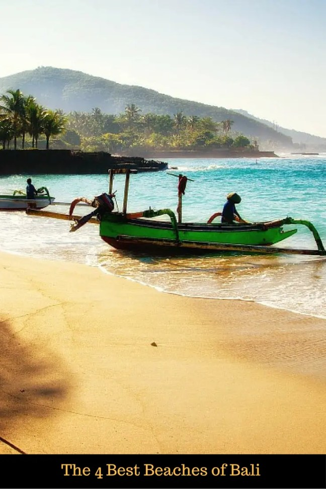 The 4 Best Beaches of Bali