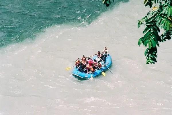 Kayaking in India