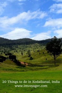20 Things to do in Kodaikanal, India