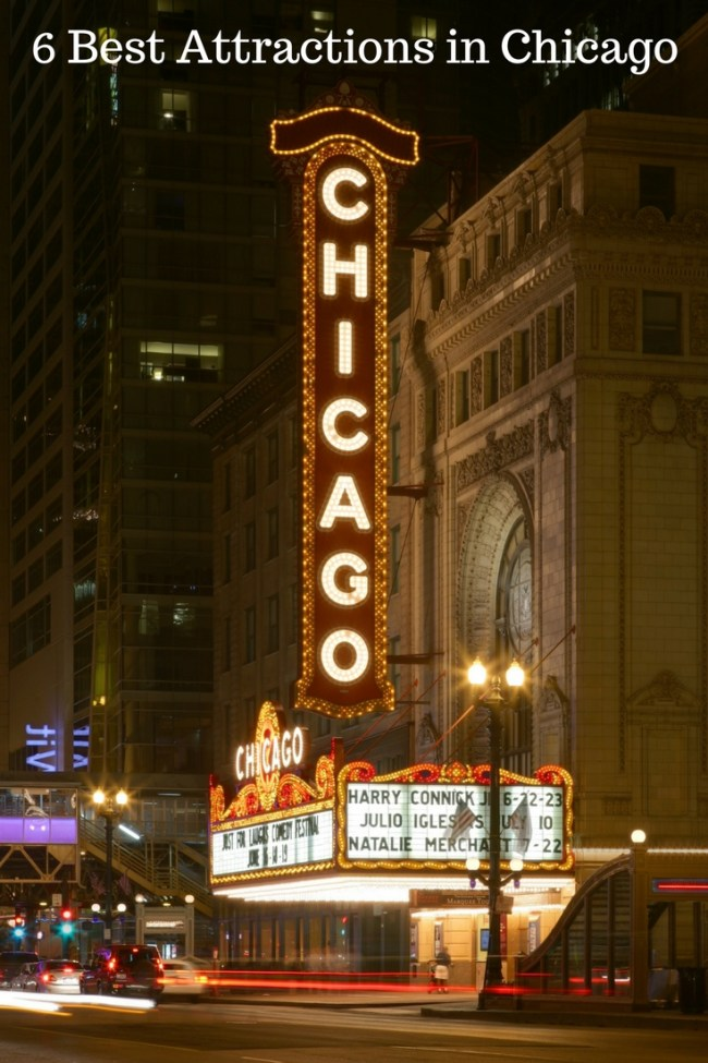 6 Best Attractions in Chicago
