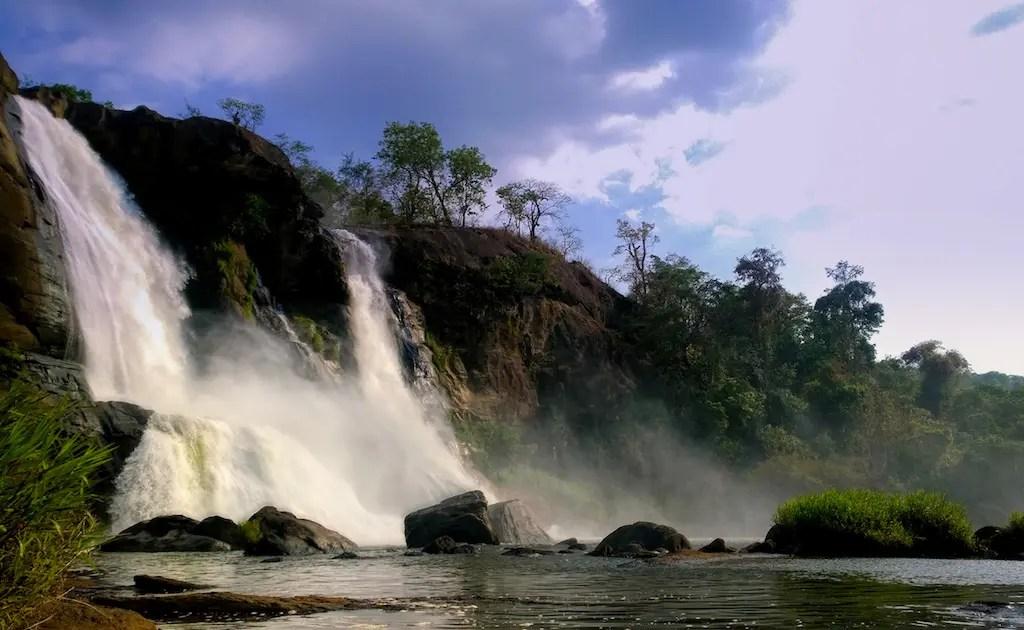 essay on athirapally waterfalls