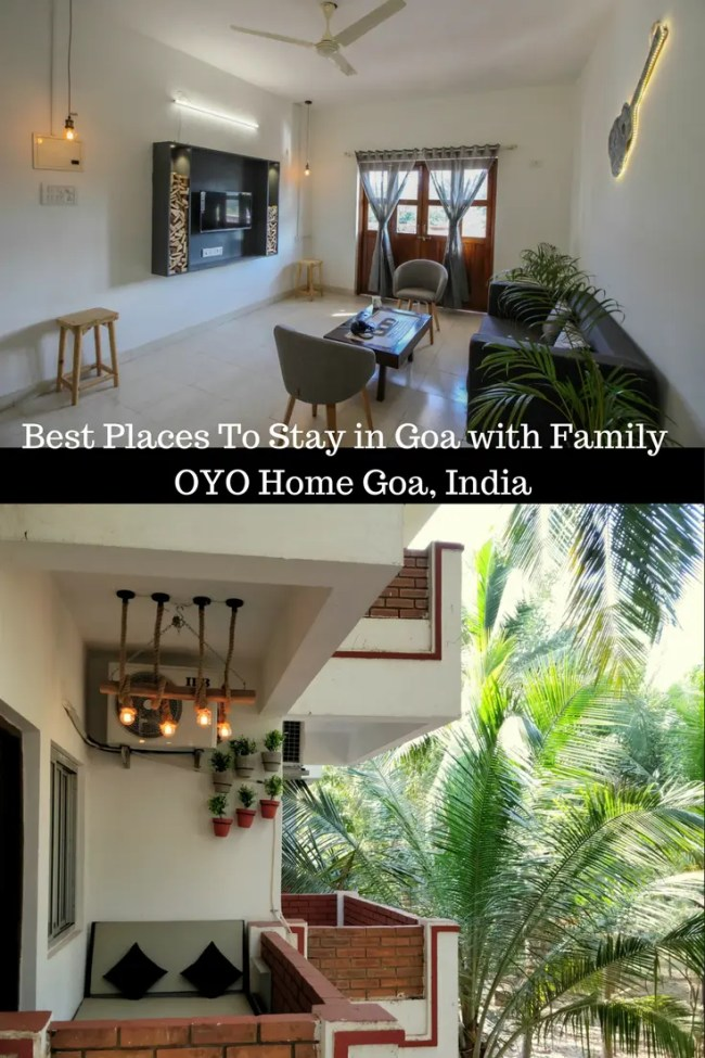 Best Places To Stay in Goa with Family OYO Home Goa, India