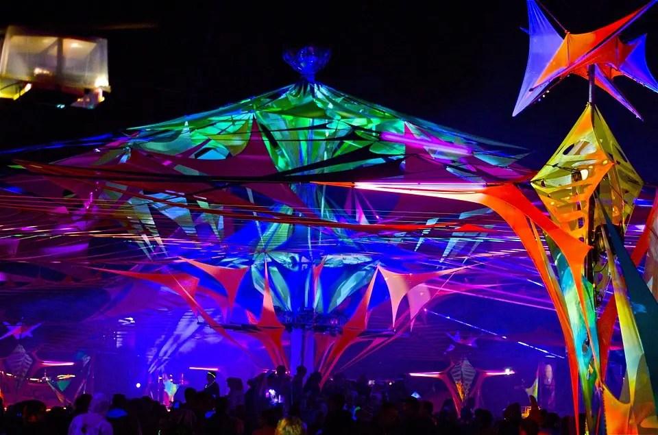 Goa music festival