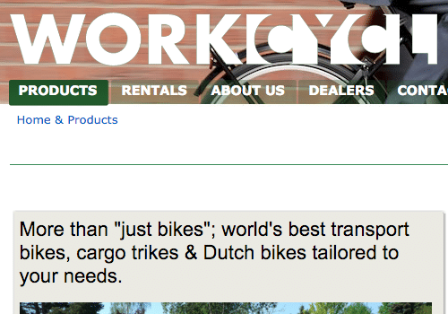 WorkCycles Featured