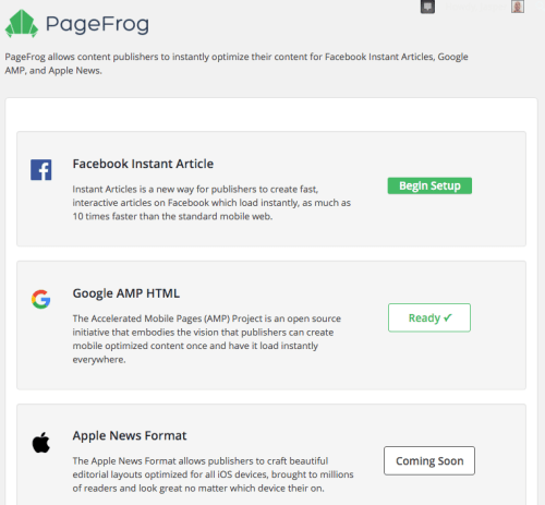 Page Frog