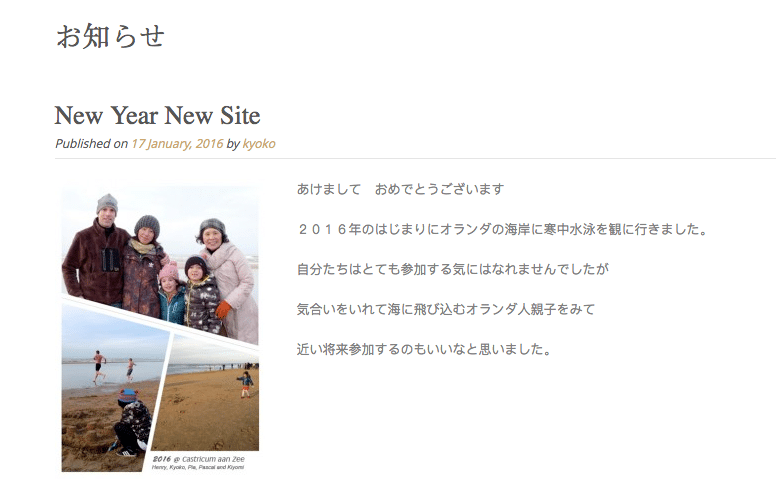 Japanese on the site