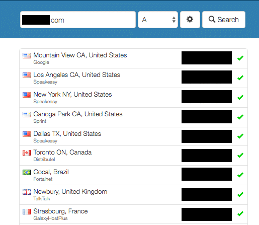 how to see my dns servers