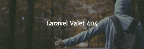 Laravel Valet 404