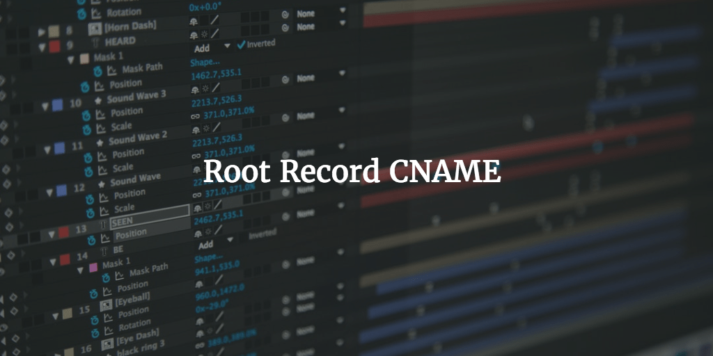 Root Record CNAME
