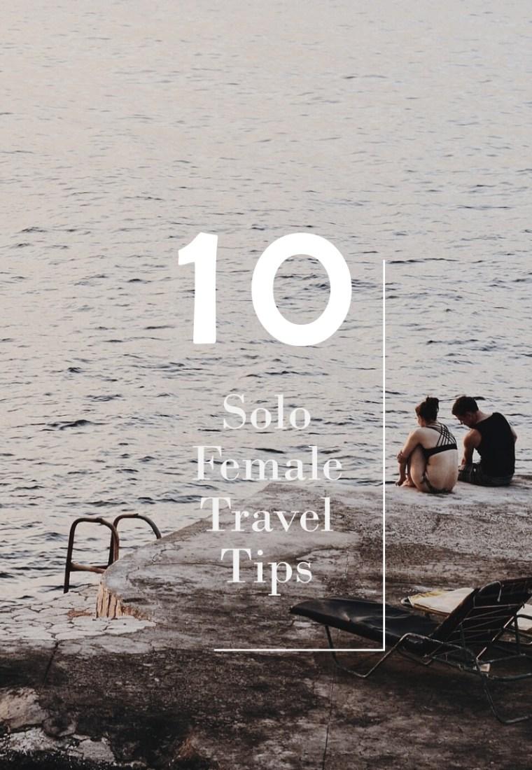十條關於女生獨旅,冒險背後的注意事項