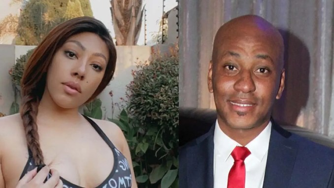 Actress Mbali Nkosi confirms breakup from soccer star Kaizer Motaung Jnr