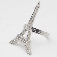 Servietten Ringe (Set) Paris