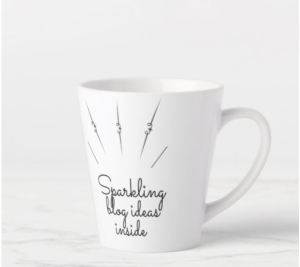 Latte mug_Sparkling ideas