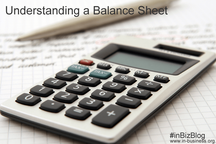 Understanding balance sheet image