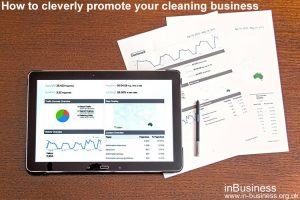 How to cleverly promote your cleaning business