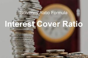 Solvency ratio formula - Interest Cover Ratio