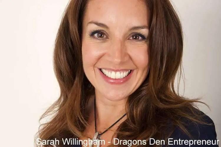 Dragons Den Sarah Willingham Net Worth