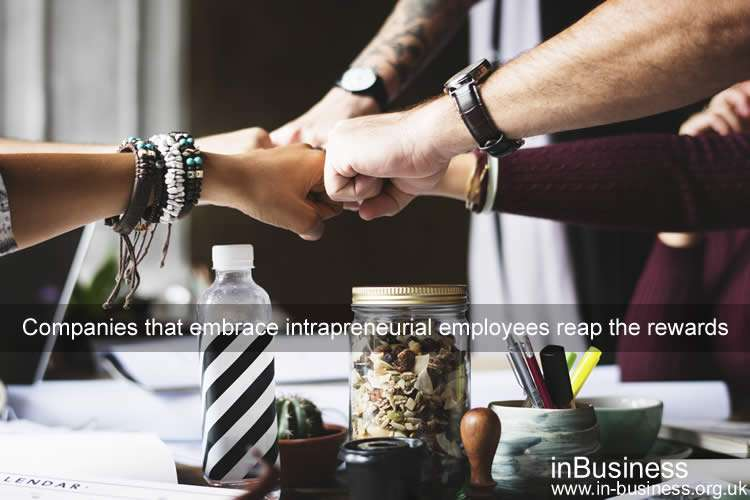 Examples of Intrapreneurship - Companies that embrace intrapreneurial employees reap the rewards