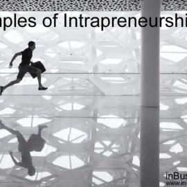 Examples of Intrapreneurship