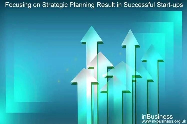 Tej Randeva - Focusing on Strategic Planning Result in Successful Start-ups
