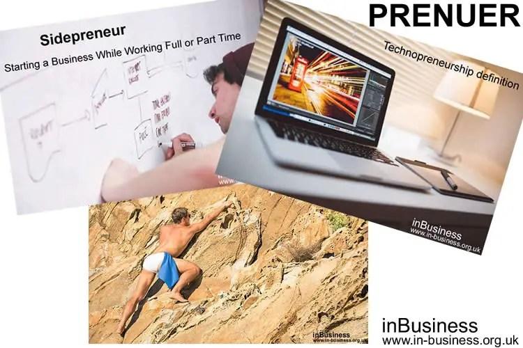 Preneur - types of entrepreneurs