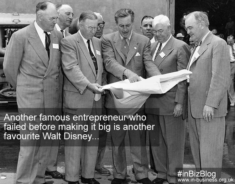 Famous entrepreneur failed before making it big Walt Disney