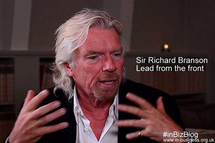 Sir Richard Branson Leadership Style Lead from the front